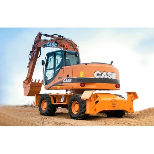 Manual de serviço da escavadeira Case WX145, WX165, WX185 - Case manuais