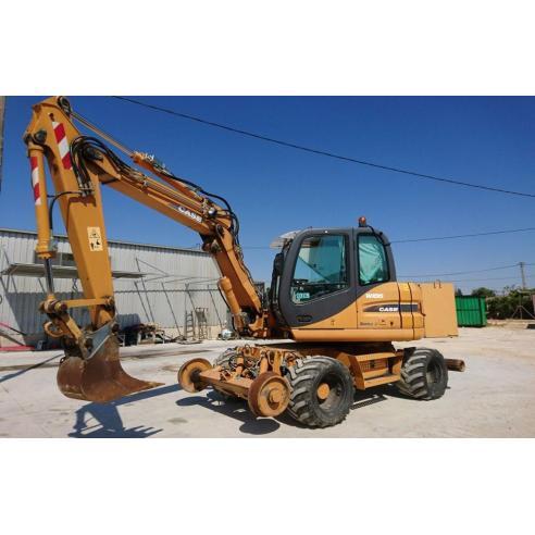 Manual de servicio de la excavadora Case WX95, WX125 - Case manuales
