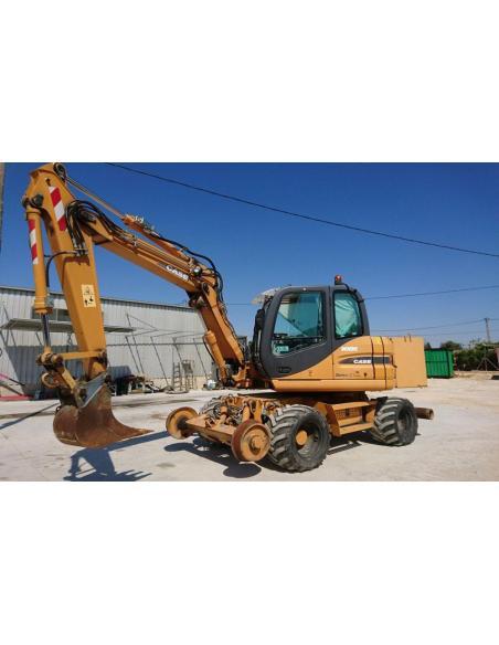 Case WX95, WX125 excavator service manual - Case manuals