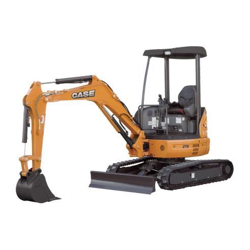 Case CX20B, CX22B, CX27B mini excavator shop manual - Case manuals