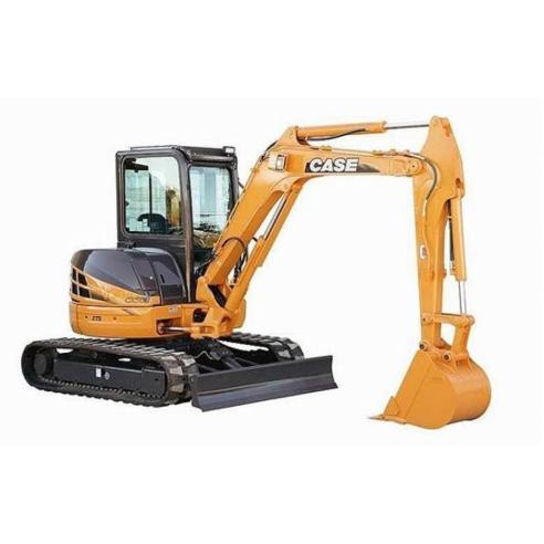 Shop manual for Case CX40B, CX50B mini excavator, PDF-Case