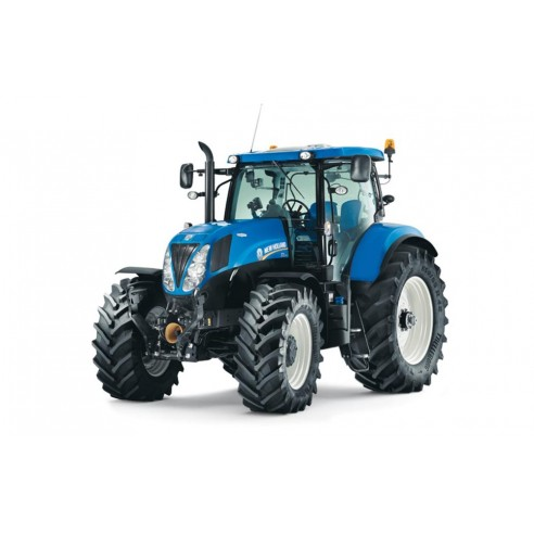 Manual de servicio del tractor New Holland T7.170, T7.185, T7.200, T7.210 - Agricultura de New Holland manuales