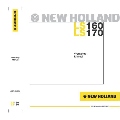 Workshop manual for New Holland LS160, LS170 skid loader, PDF-New Holland