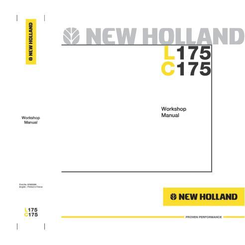 Manuel d'atelier pour chargeuse compacte New Holland L175, C175 - Construction New Holland manuels