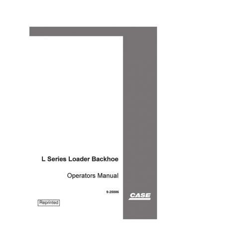 Manual do operador da carregadeira Case 445 / M2, 445T / M2 e 668T / M2 - Case manuais