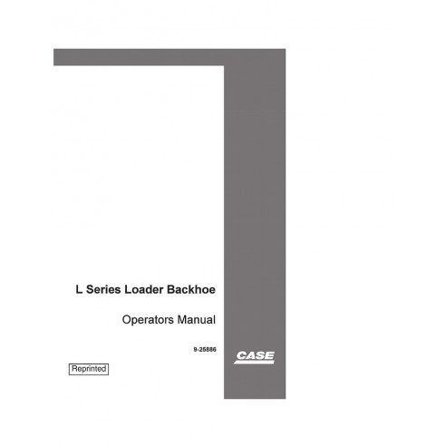 Operator's manual for Case 445/M2, 445T/M2 and 668T/M2 loader, PDF-Case
