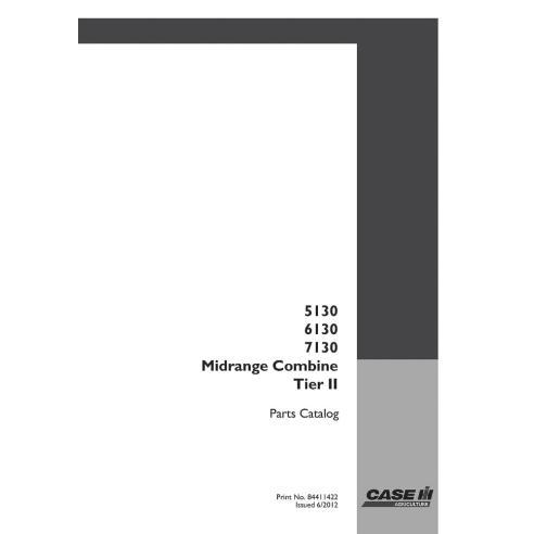 Parts catalog for Case 5130, 6130, 7130 Tier 2 combine harvester, PDF-Case