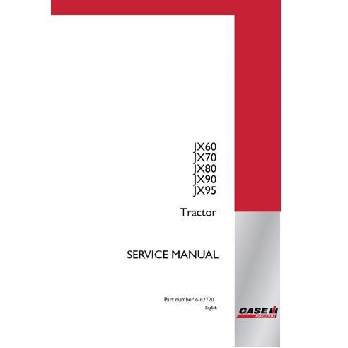 Manual de reparación del tractor Case Ih JX60, JX70, JX80, JX90, JX 95 - Case IH manuales