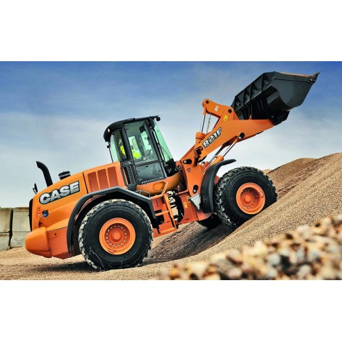 Operator's manual for Case 821F, 921F Tier 4 wheel loader, PDF-Case