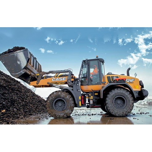 Case 721F Tier 4 wheel loader service manual - Case manuals