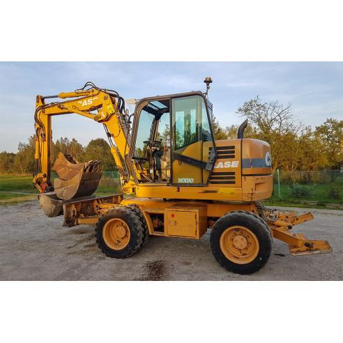 Manual de servicio de la excavadora Case WX90 - Case manuales