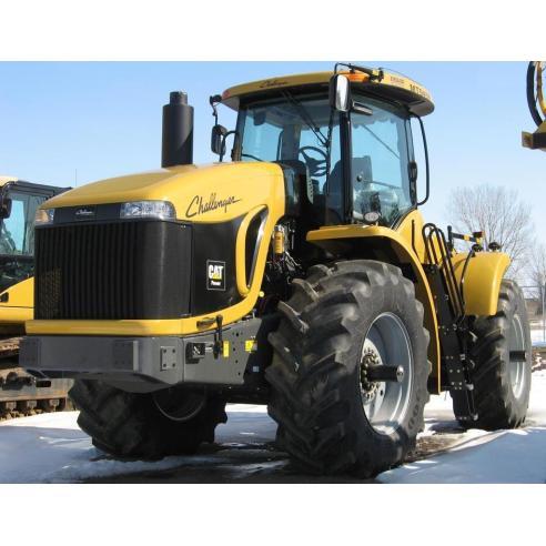 Challenger MT945B, MT955B, MT965B, MT975B manual de servicio del tractor - Challenger manuales