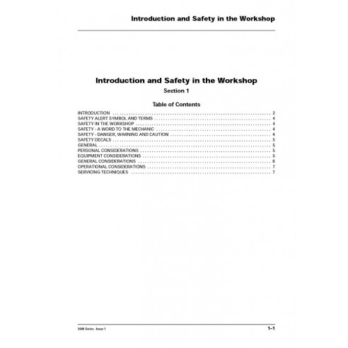 Workshop service manual for Massey Ferguson MF 3600 Series tractor, PDF-Massey Ferguson service repair workshop manuals