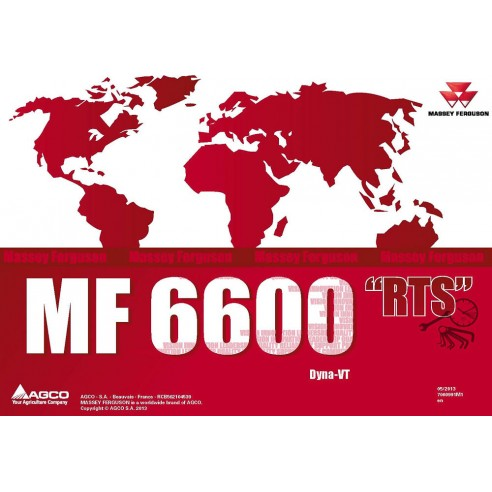 Horário de reparo do trator Massey Ferguson MF 6600 Series - Massey Ferguson manuais