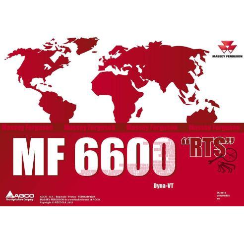 Massey Ferguson MF 6600 Series tractor repair time schedule - Massey Ferguson manuals