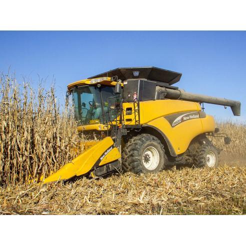 Manual de serviço da colheitadeira New Holland CR920, CR940, CR960, CR970 - New Holland Agriculture manuais